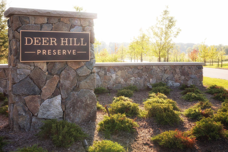 Deer Hill Preserve signpost